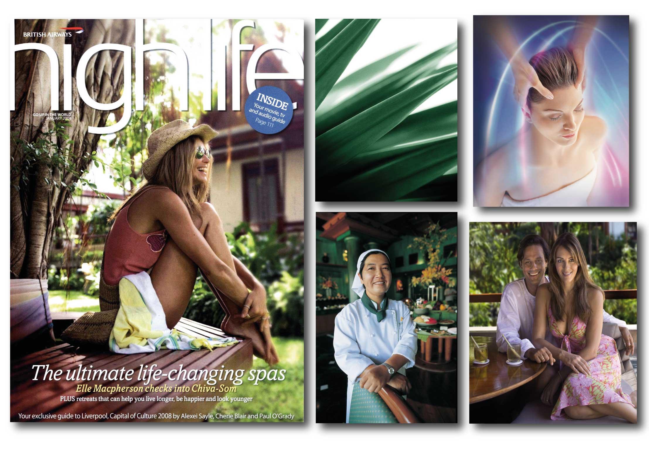 Hotel Chivasom Thailand Elle McPherson