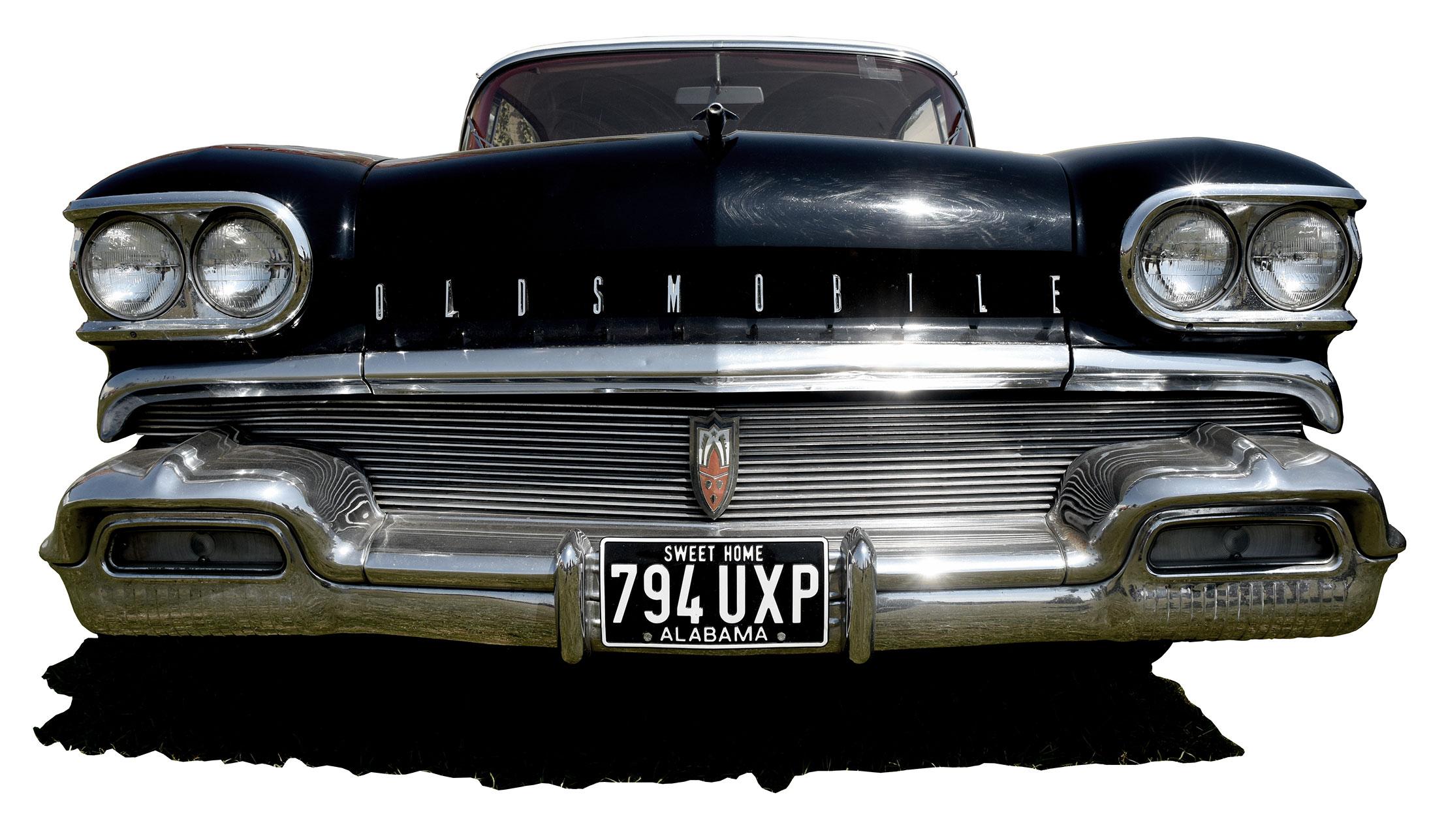 American Classic Car Black