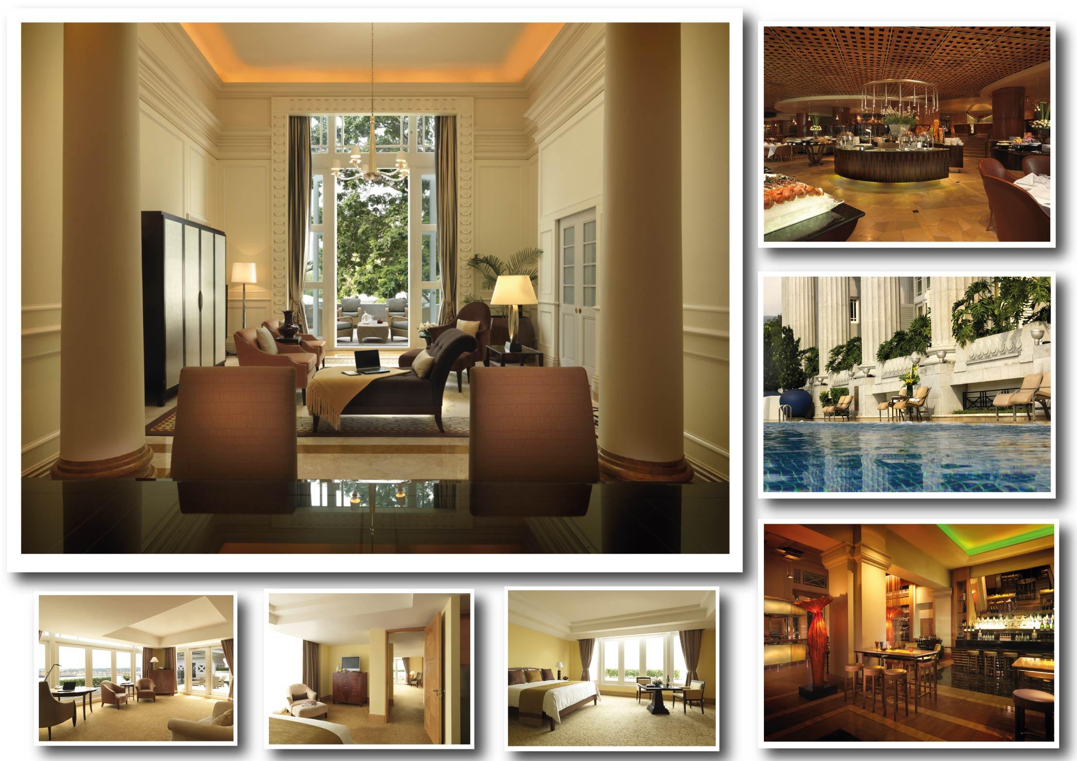 Fullerton Bay Hotel Singapore Rooms Interior Photographs
