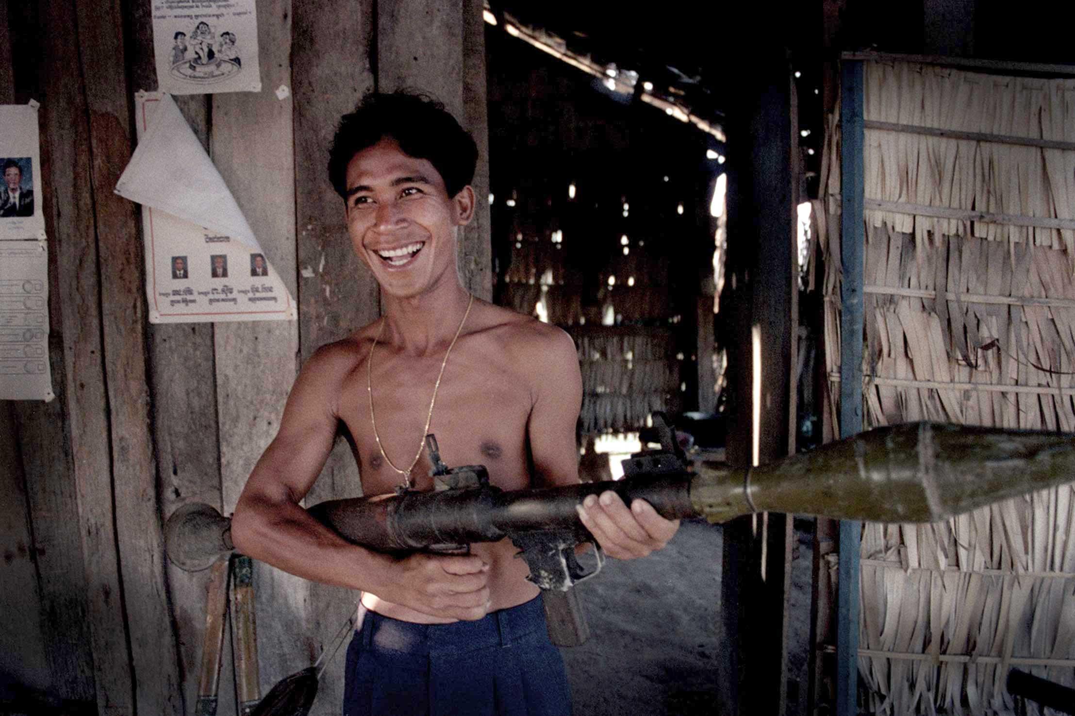 Grenade Launcher Siem Reap