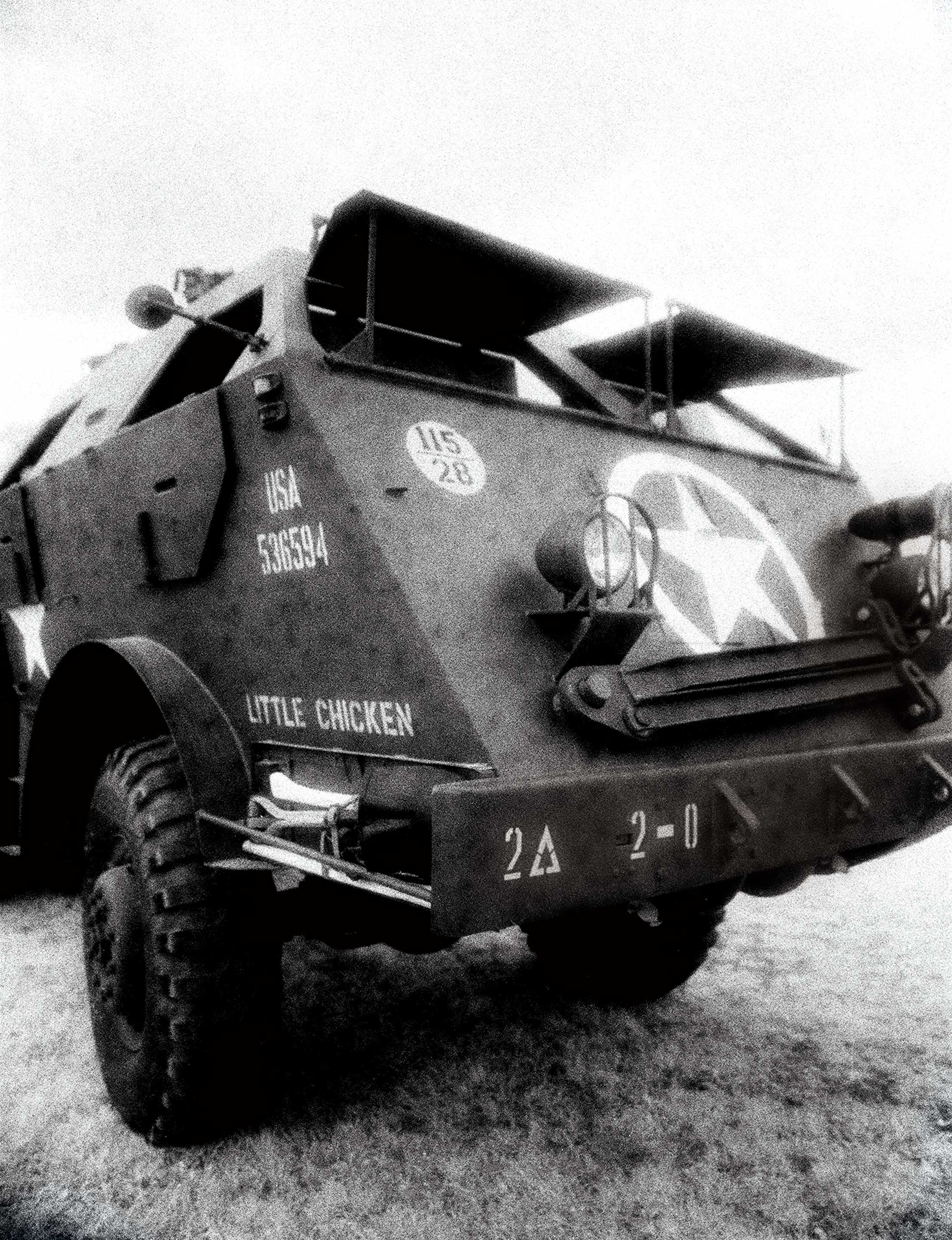 american troop transporter